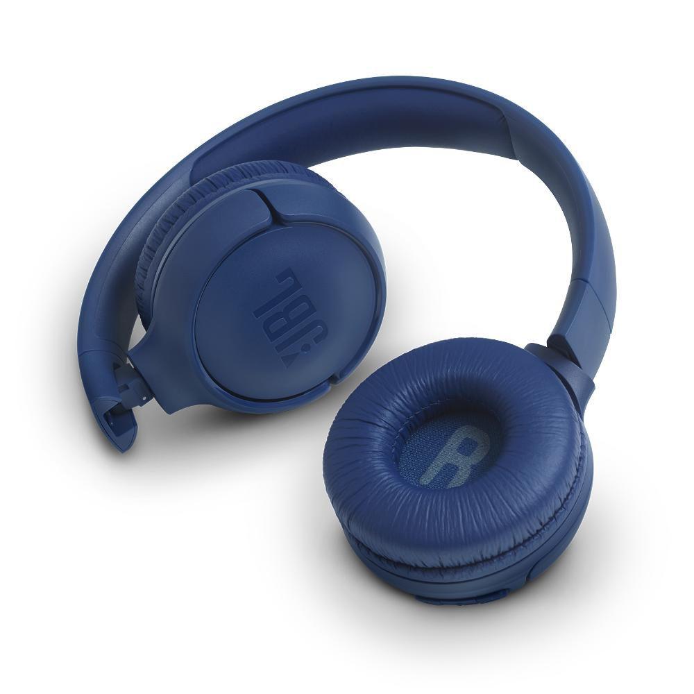 Fone de Ouvido Bluetooth JBL Tune 500 BT Azul Headset Headphone sem fio com Microfone