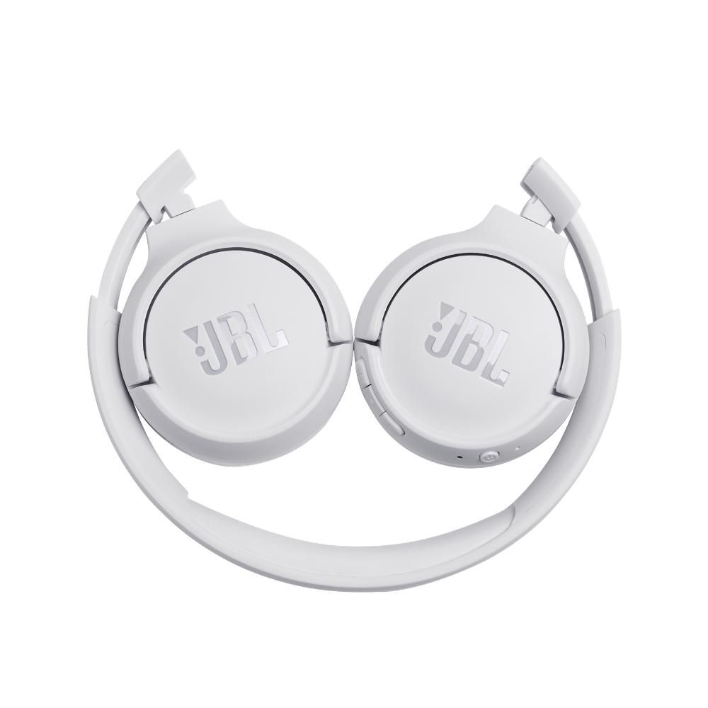 Fone de Ouvido Bluetooth JBL Tune 500 BT Branco Headset Headphone sem fio com Microfone