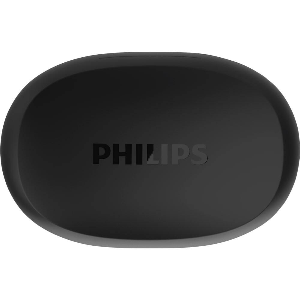Fone de Ouvido Bluetooth Philips TAT1235 Preto Confort fit Sem Fio Resistente à Água IPX5 TAT1235BK