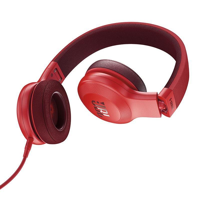 Fone de Ouvido com Microfone JBL E35 Vermelho