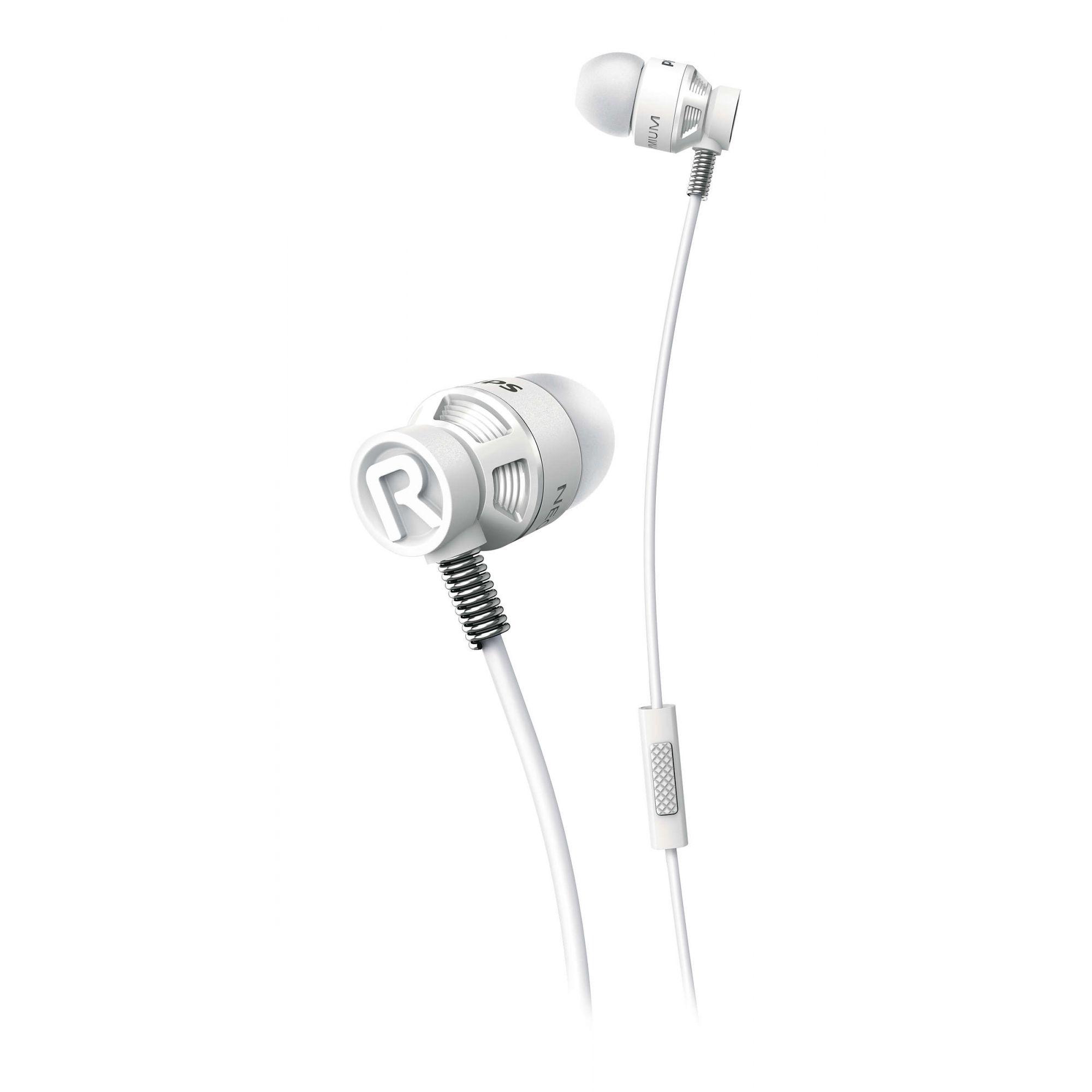 Fone de Ouvido com Microfone Philips SHE5205 Branco