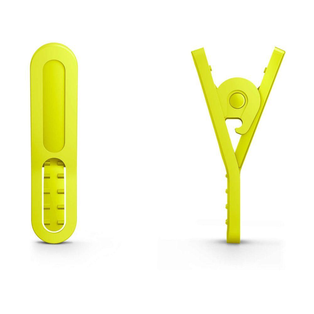 Fone de Ouvido Esportivo ActionFit Philips SHQ1400 Branco Amarelo Verde Lima à Prova de Suor Resistente à água