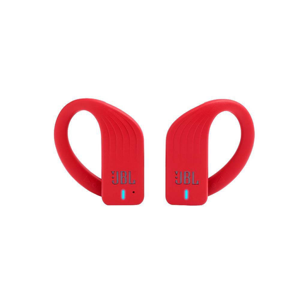 Fone de Ouvido Esportivo JBL Endurance Peak Vermelho Bluetooth À Prova D?água IPX7