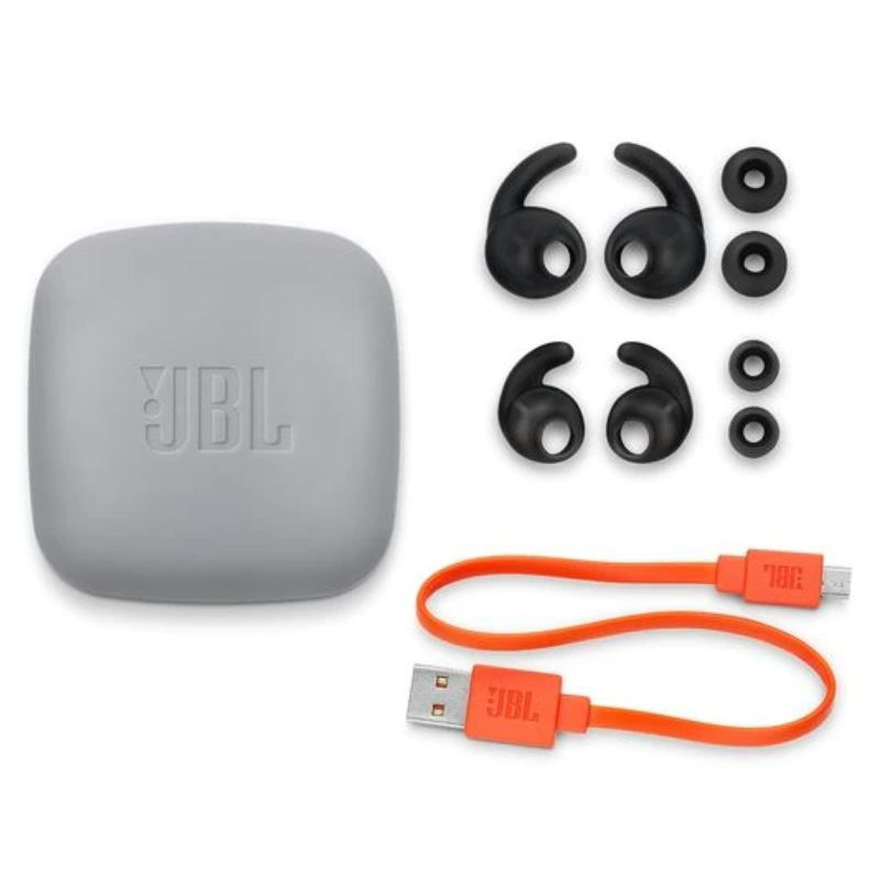 Fone de Ouvido Esportivo JBL Reflect Contour 2 Bluetooth Preto