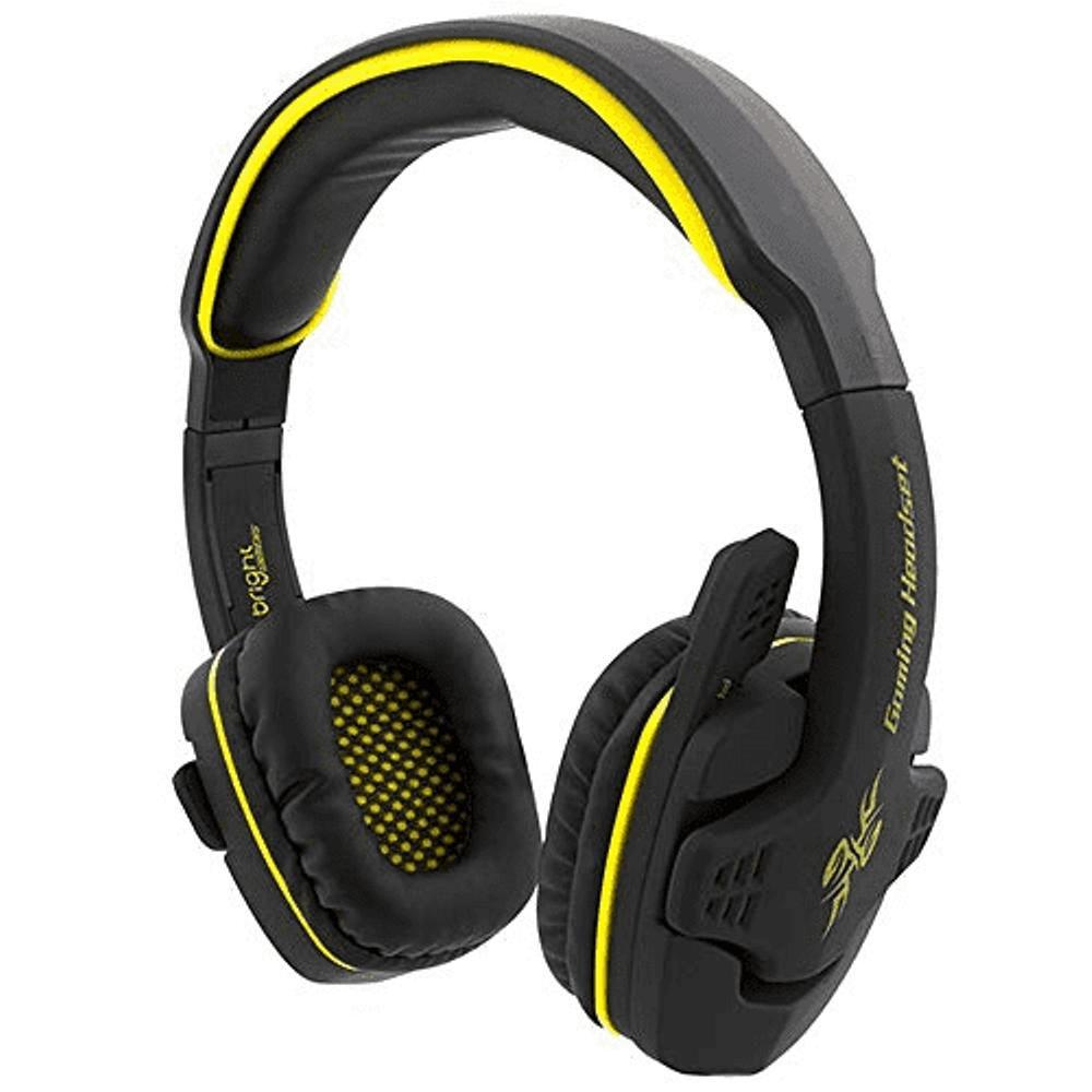 Fone de Ouvido Headset Gamer Áudio Surround 7.1 Saída USB Bright 0354