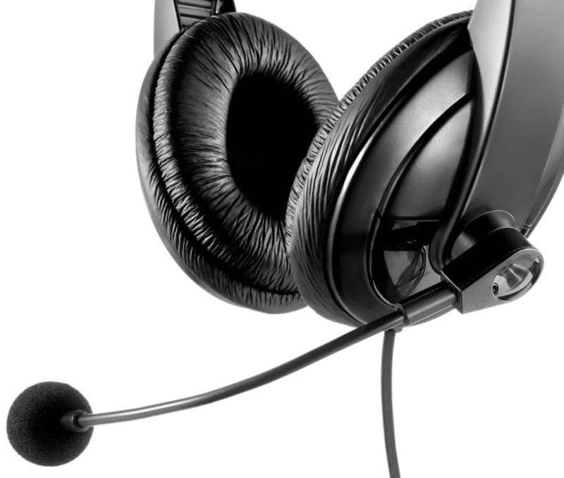 Fone de Ouvido Headset Profissional Grande Multilaser Giant PH049