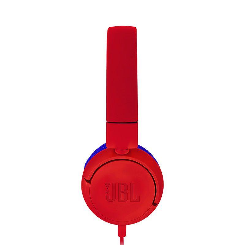 Fone de Ouvido Infantil JBL JR300 Vermelho Azul com Limitador de Volume 85dB