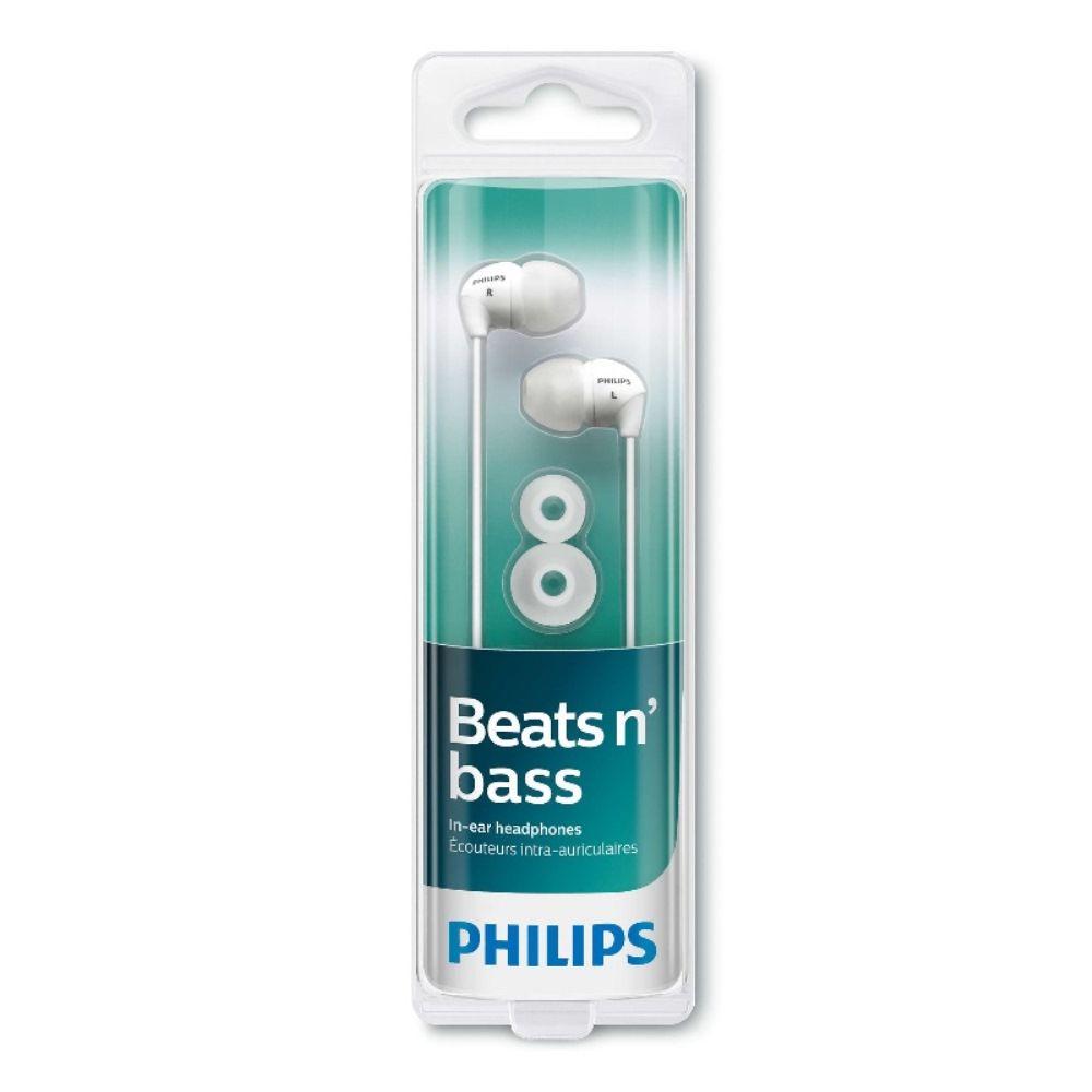 Fone de Ouvido Intra-auricular Philips SHE3590 Branco
