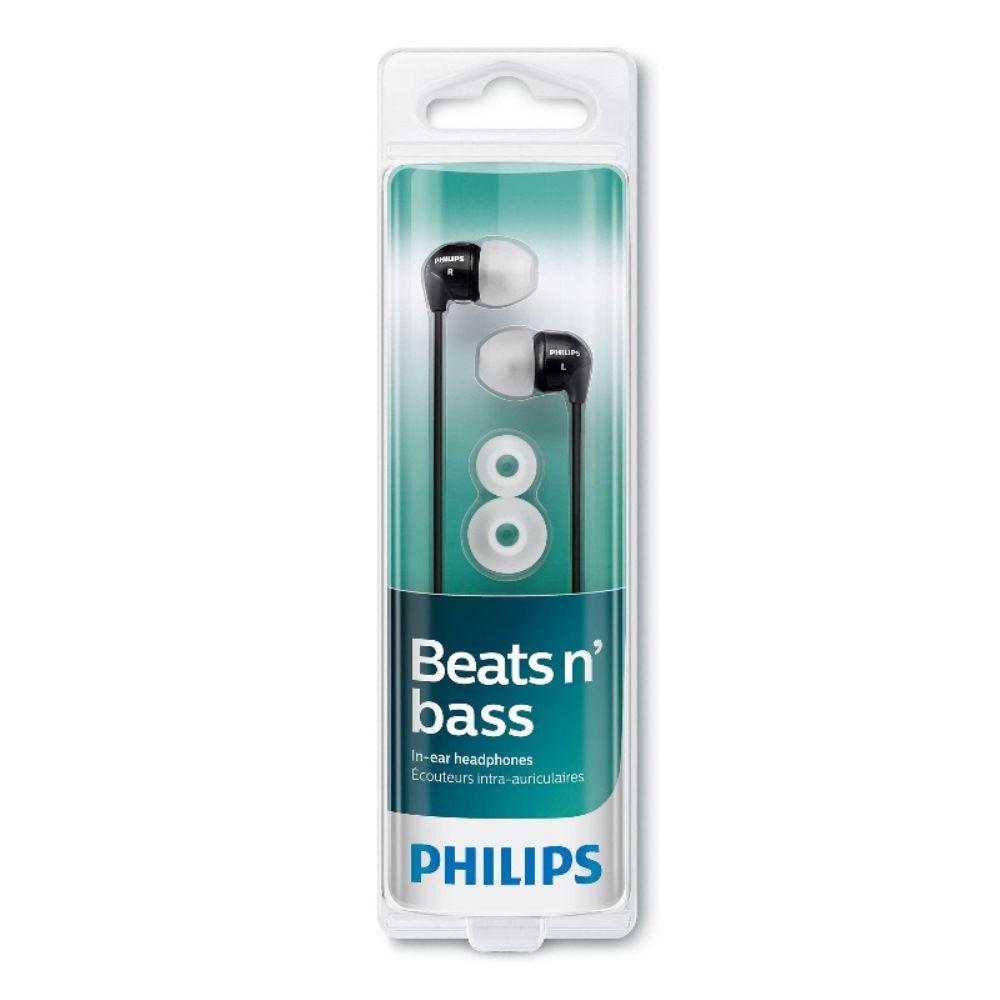 Fone de Ouvido Intra-auricular Philips SHE3590 Preto