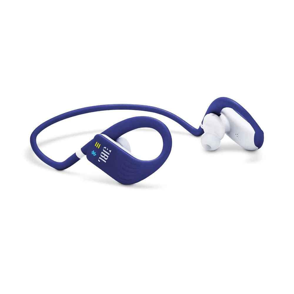 Fone de Ouvido JBL Endurance Dive Bluetooth Azul Esportivo IPX7 MP3 Memória Interna JBLENDURDIVEBLU