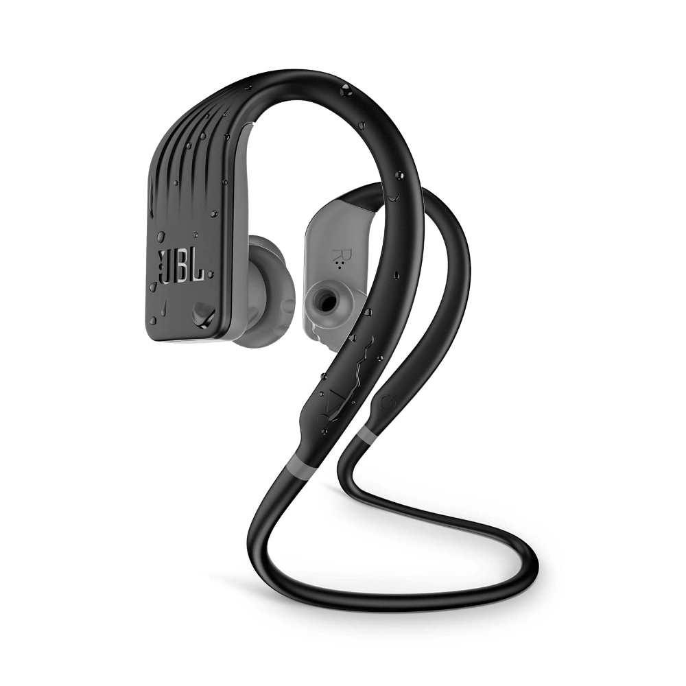 Fone de Ouvido JBL Endurance Jump Bluetooth Preto Esportivo À Prova D'água Neckband JBLENDURJUMPBLK
