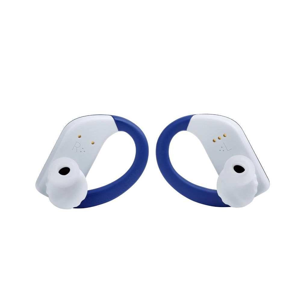 Fone de Ouvido JBL Endurance PEAK Bluetooth Azul Esportivo Prova D'água para Corrida JBLENDURPEAKBLU