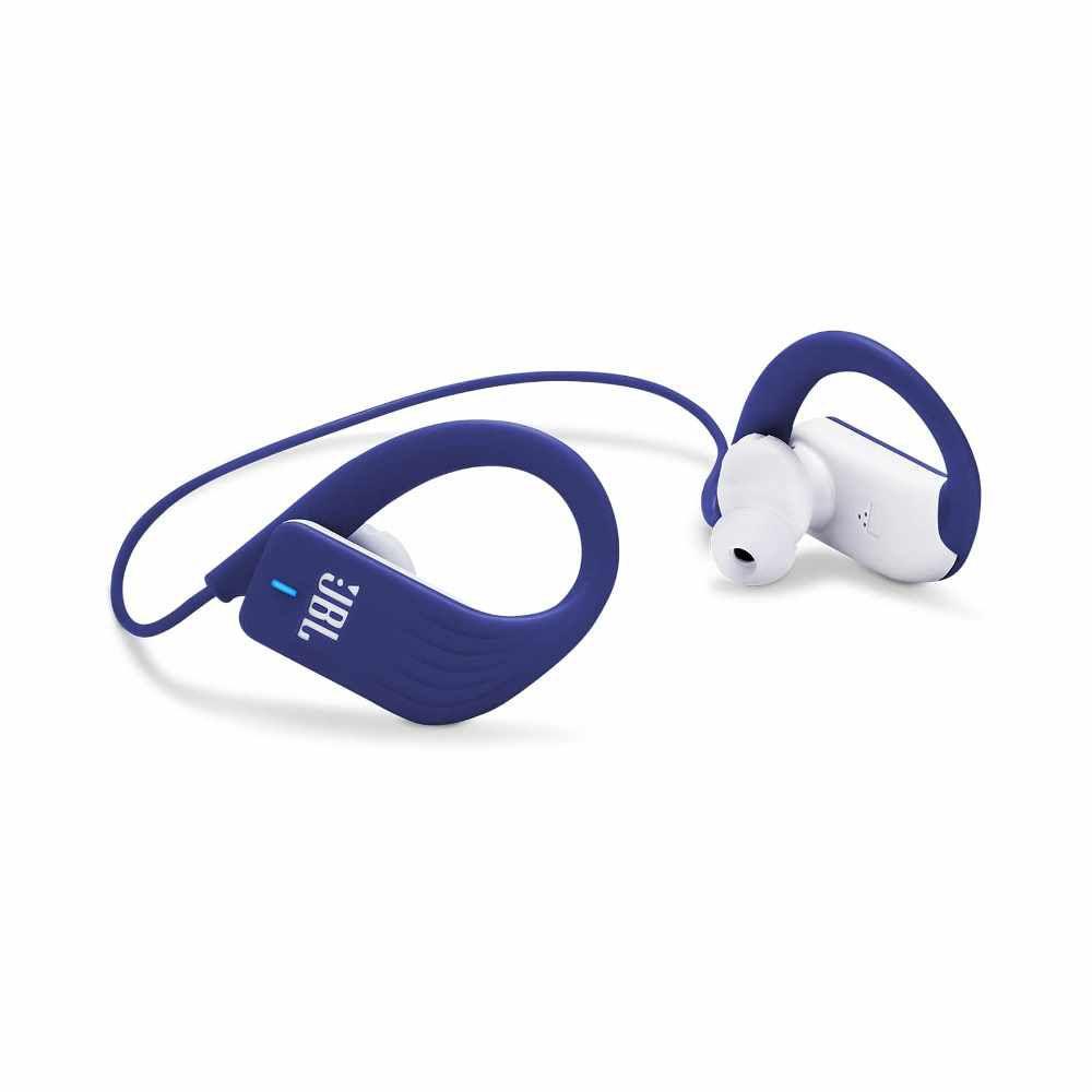 Fone de Ouvido JBL Endurance Sprint Bluetooth Azul Esportivo À Prova D'água IPX7 JBLENDURSPRINTBLU