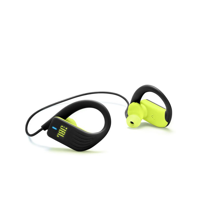 Fone de Ouvido JBL Endurance Sprint Bluetooth Preto Amarelo Esportivo À Prova D'água IPX7 para Corrida Crossfit