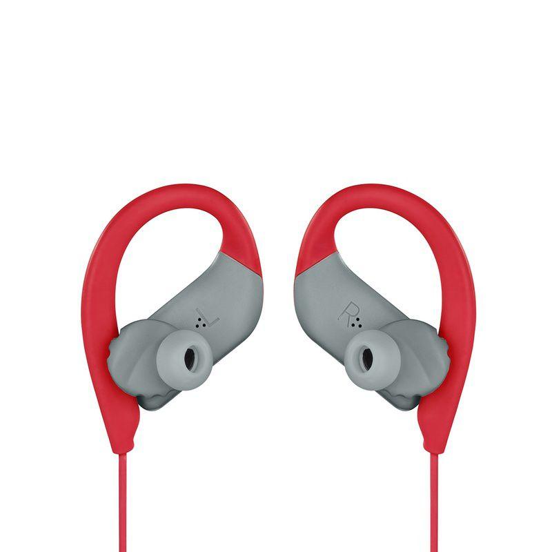 Fone de Ouvido JBL Endurance Sprint Bluetooth Vermelho Esportivo À Prova D\'água IPX7 para Corrida Crossfit