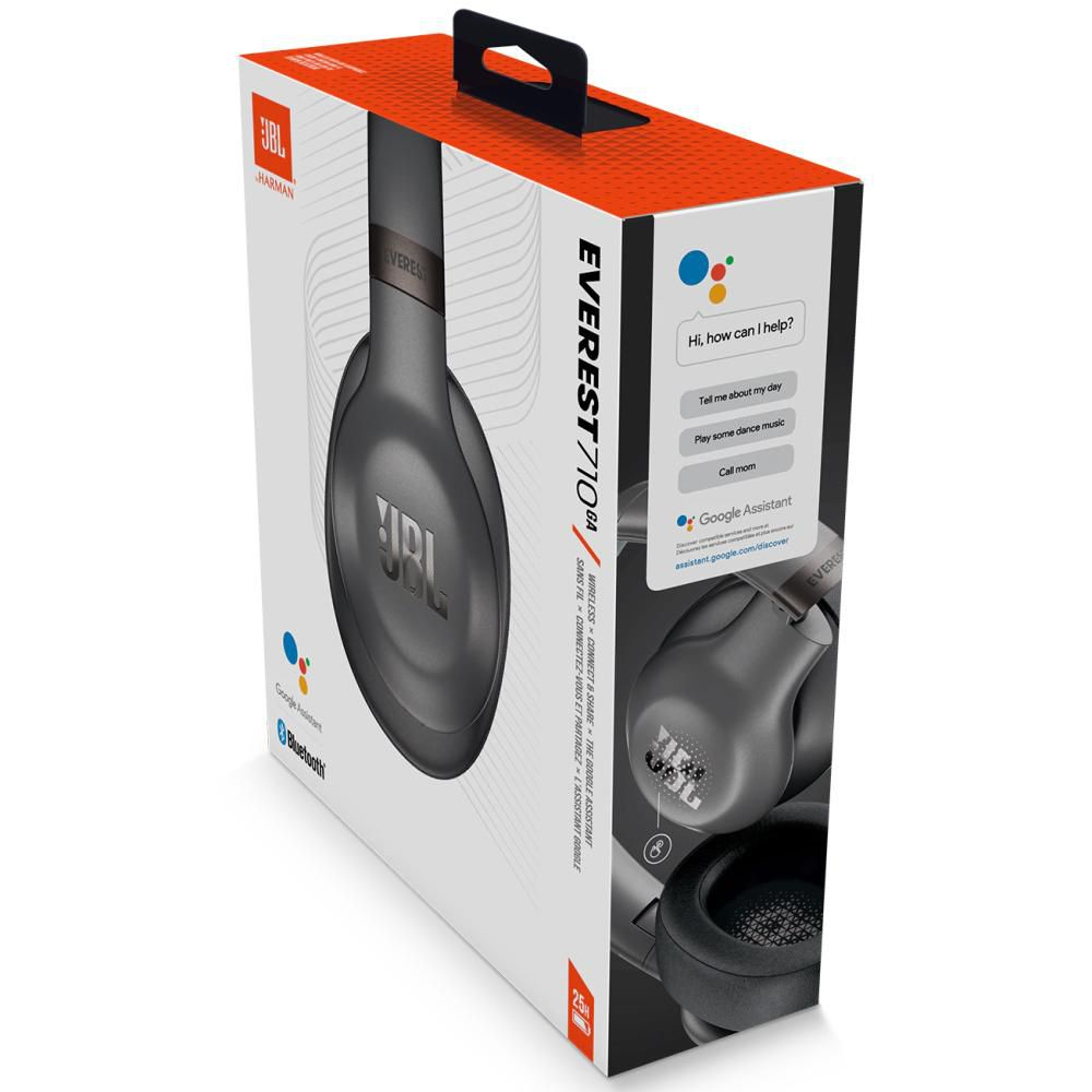 Fone de Ouvido JBL Everest 710 GA Sem Fio Bluetooth Over Ear Google Assistant ShareMe 2.0