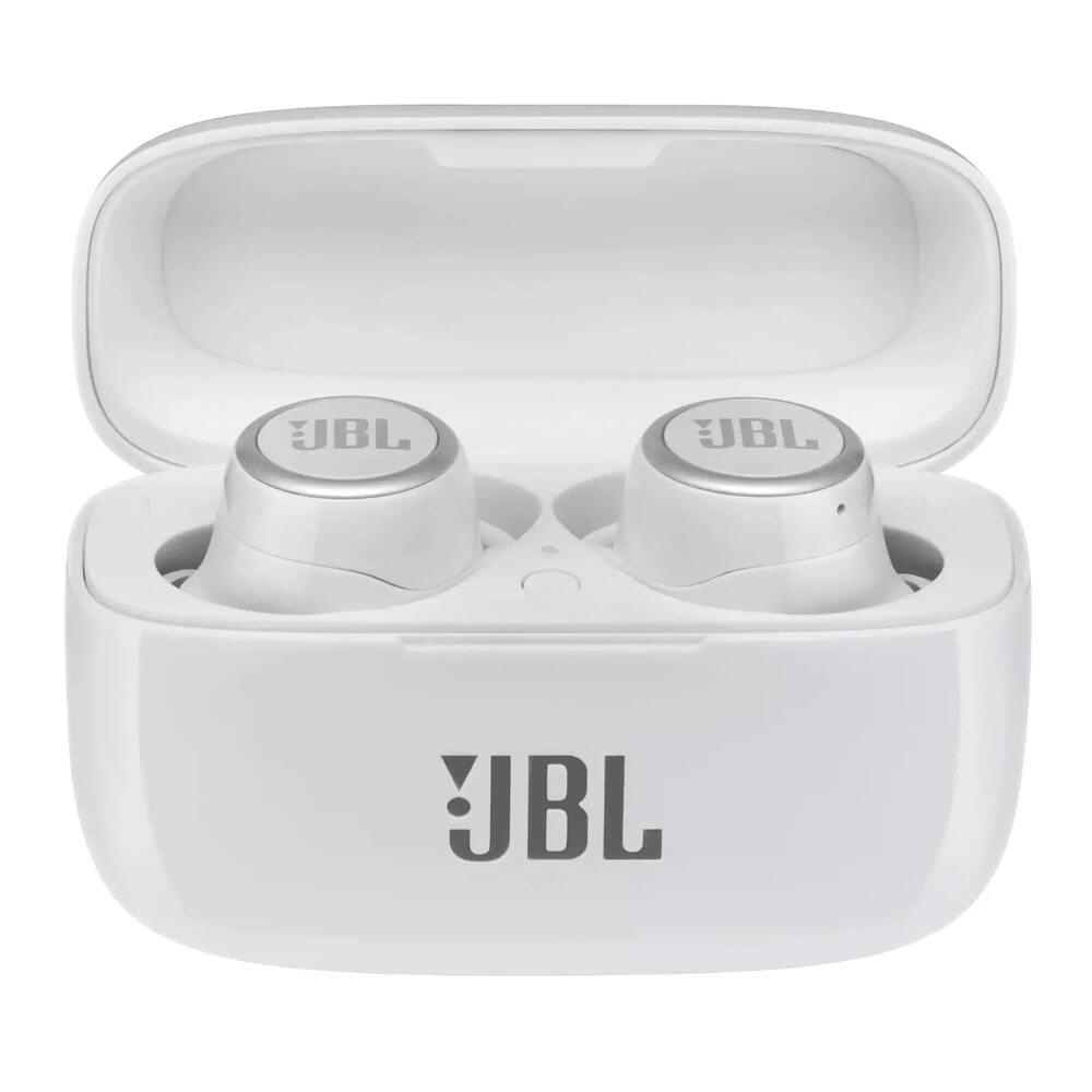 Fone de Ouvido JBL Live 300 TWS Branco True Wireless Ambient Aware Voice Assistant JBLLIVE300TWSWHT