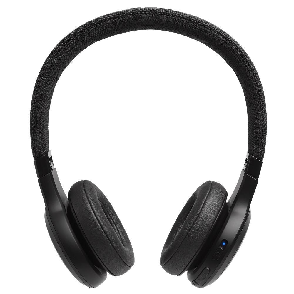 Fone de Ouvido JBL Live 400 BT Preto Original Bluetooth Multi-Point Microfone