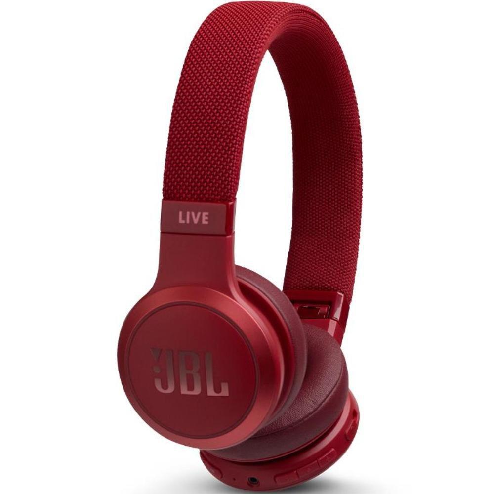 Fone de Ouvido JBL Live 400 BT Vermelho Original Bluetooth Multi-Point Microfone