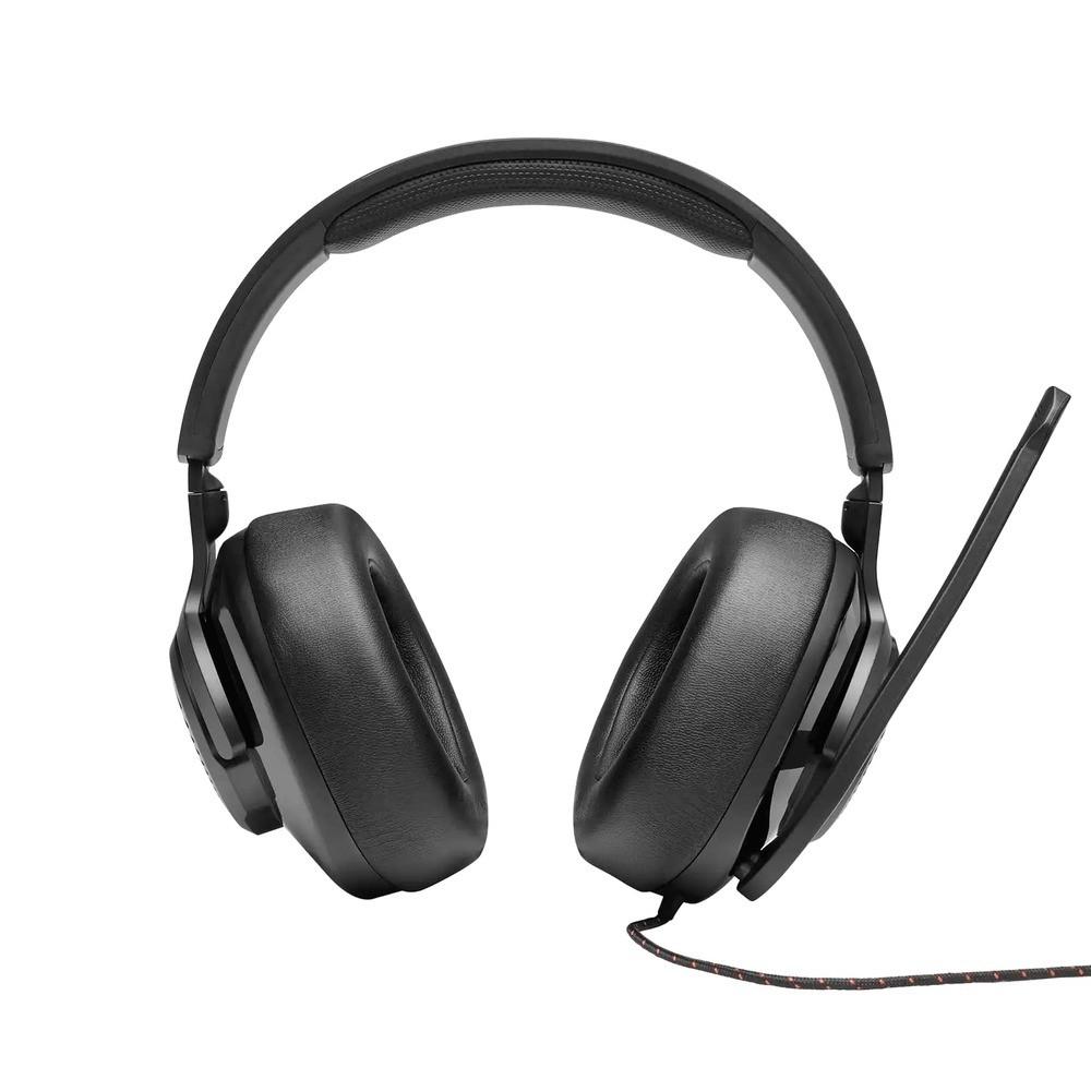 Fone de Ouvido JBL Quantum 200 Gamer Headset Headphone P3 + Adaptador 2x P2 para PC JBLQUANTUM200BLK