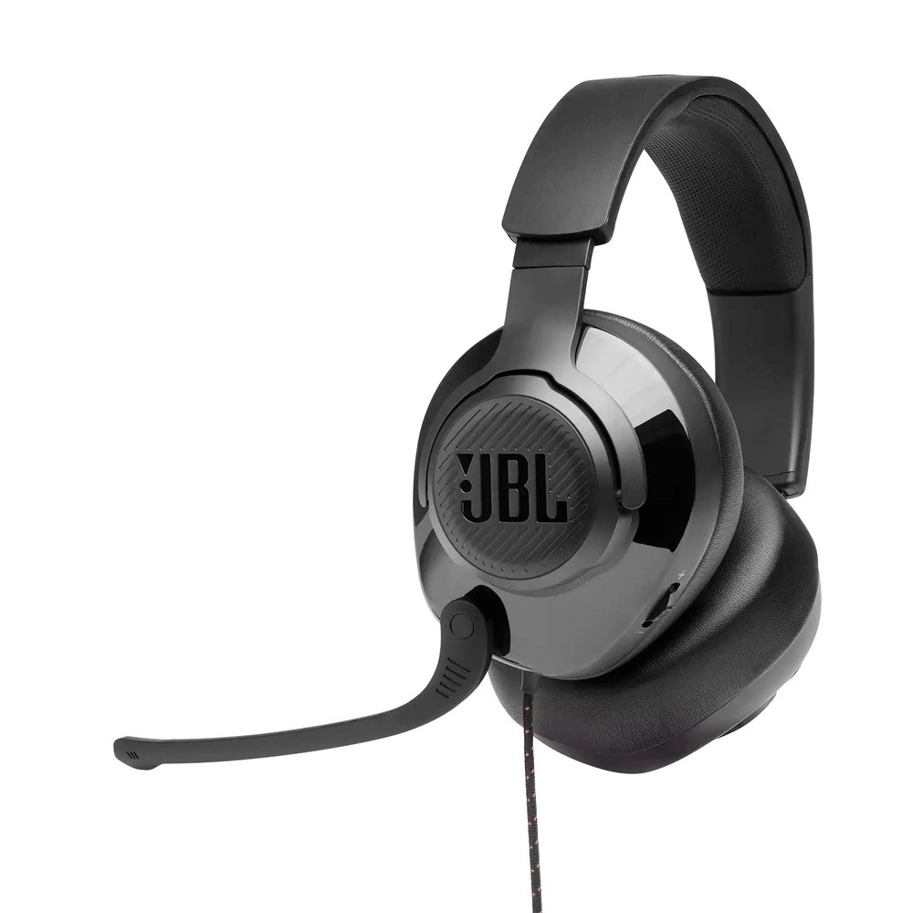 Fone de Ouvido JBL Quantum 300 Surround Gamer Headset Headphone P3 + Adaptador USB JBLQUANTUM300BLK