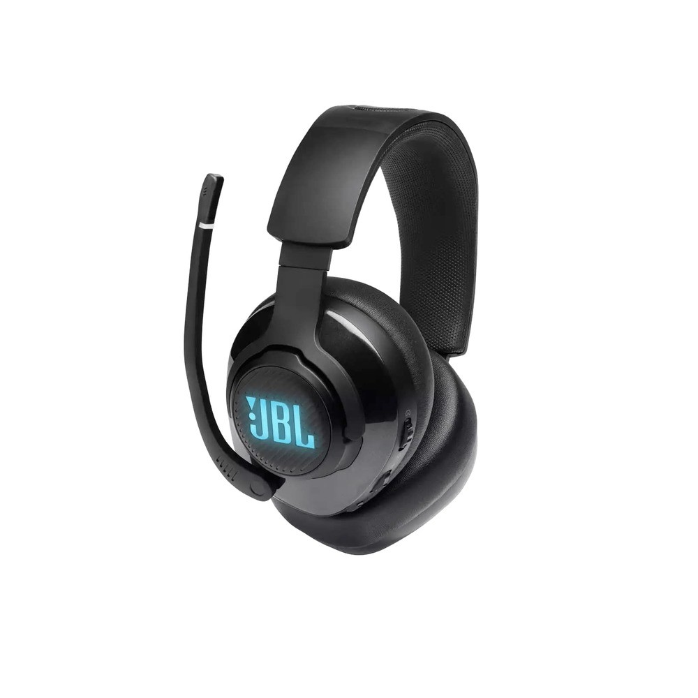 Fone de Ouvido JBL Quantum 400 Gamer Headset Headphone USB Som Surround DTS LED RGB JBLQUANTUM400BLK