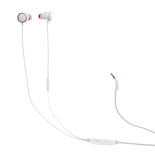 Fone de Ouvido JBL Quantum 50 Branco Gamer com Controle Volume Microfone Mute P3 JBLQUANTUM50WHT