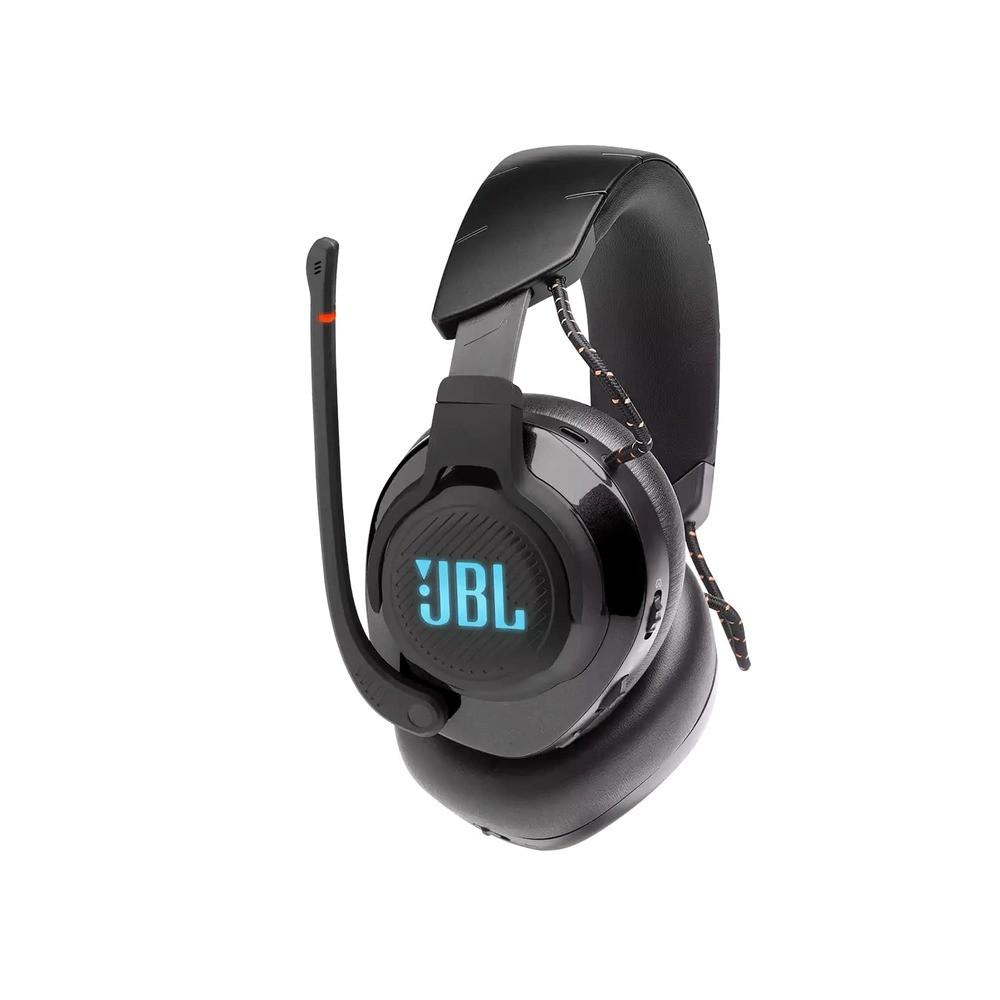 Fone de Ouvido JBL Quantum 600 Gamer Wireless 2.4Ghz Som Surround Sem Fio + P3 USB JBLQUANTUM600BLK