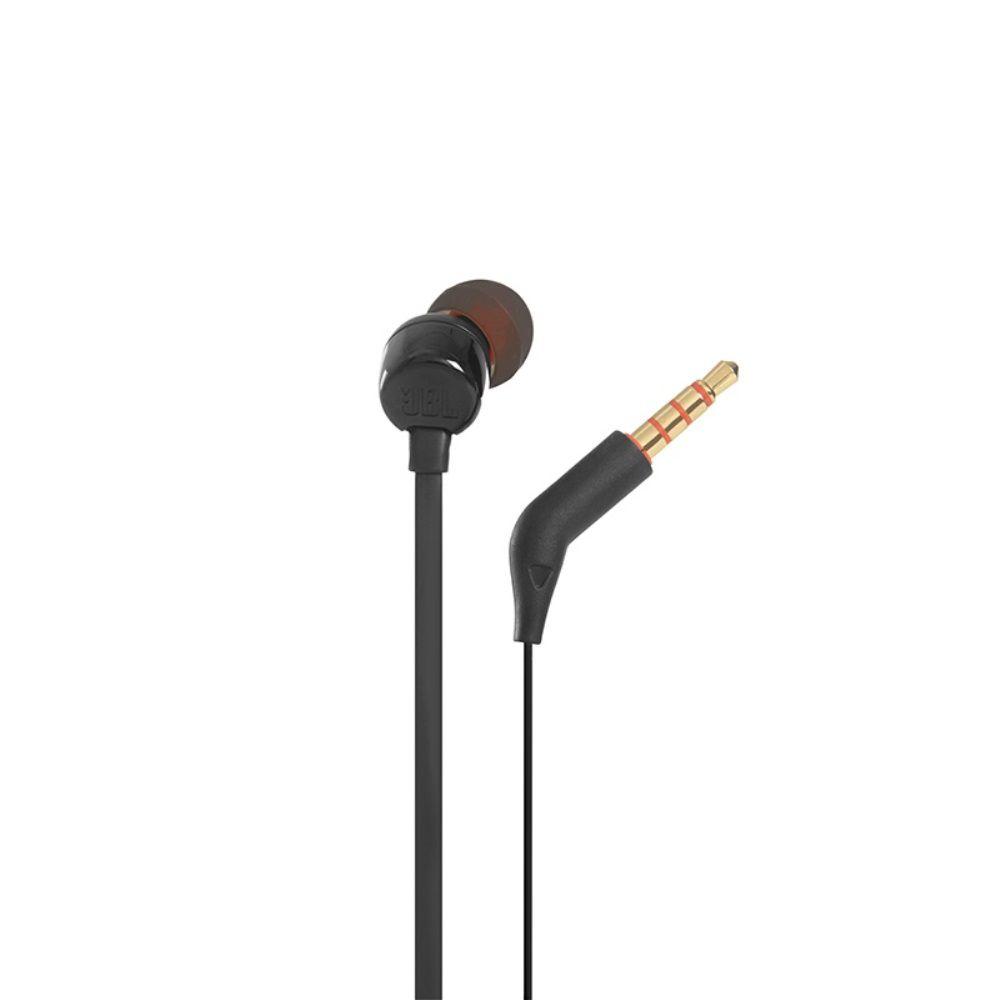 Fone de Ouvido JBL T110 BLK Preto Pure Bass com Microfone