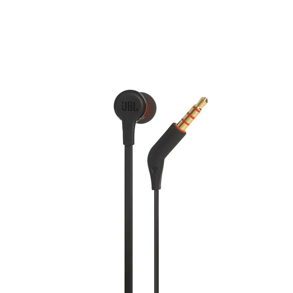 Fone de Ouvido JBL T210 BLK Preto Intra Auricular com Microfone e Controle