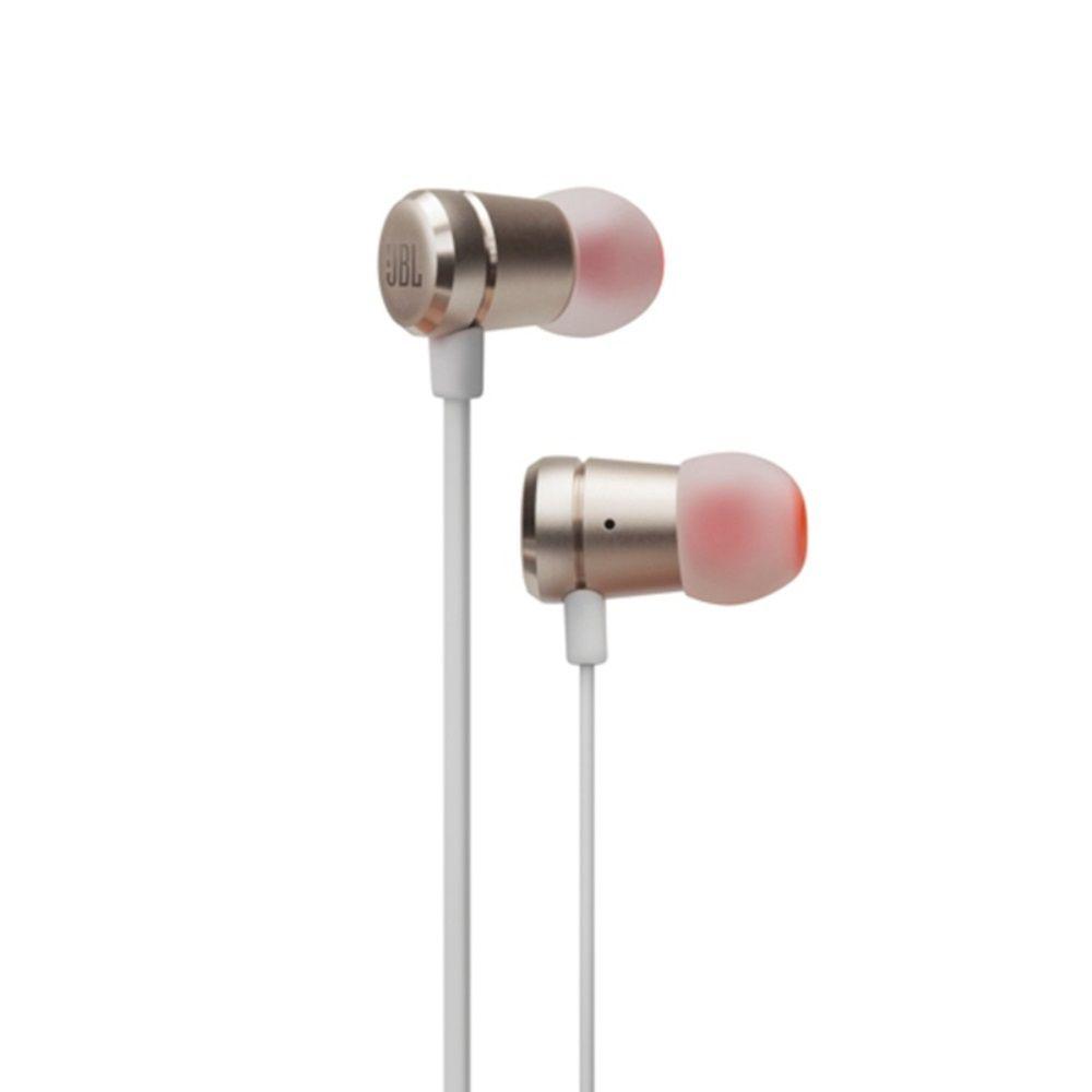 Fone de Ouvido JBL T290 CGD Dourado Intra-auricular com Microfone