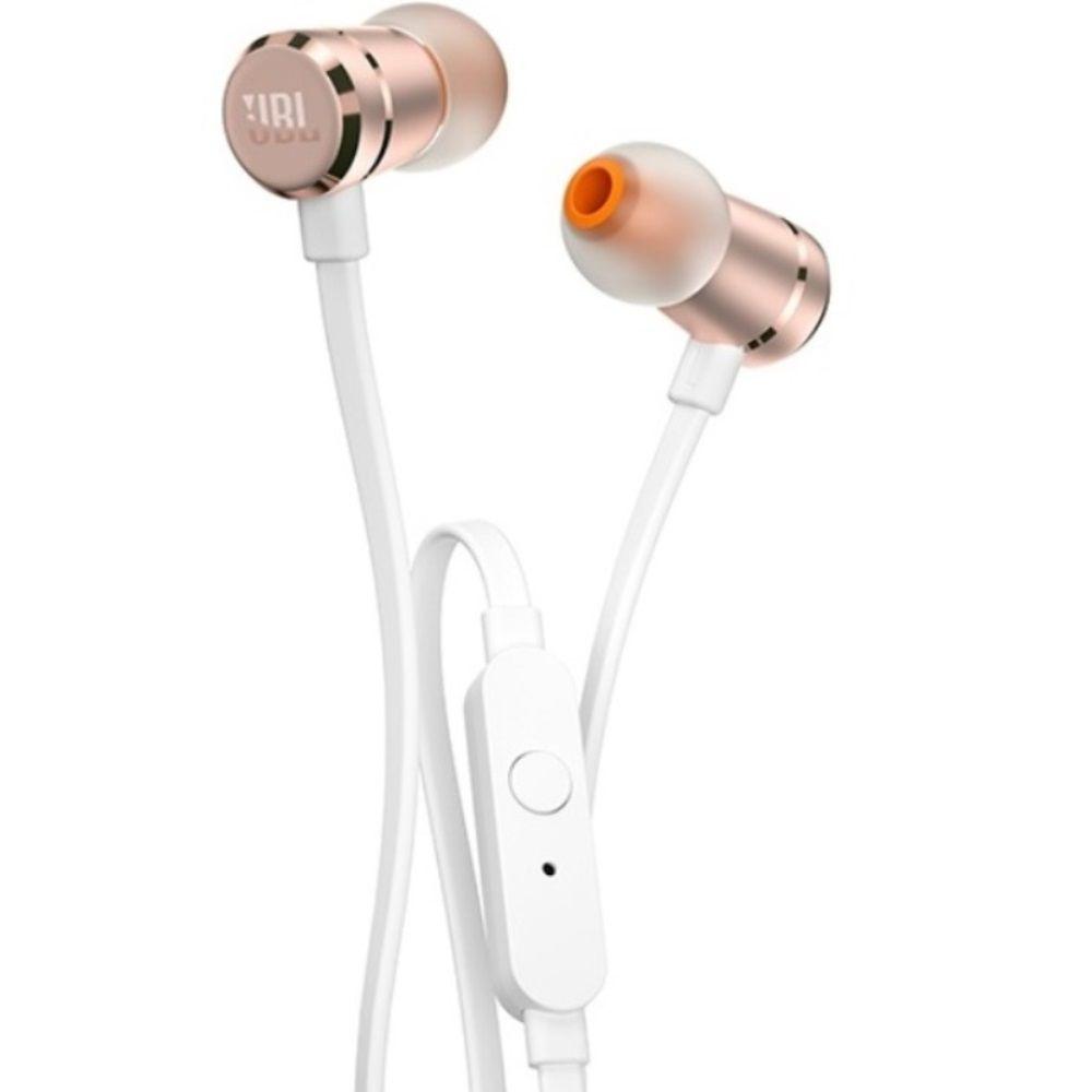 Fone de Ouvido JBL T290 RGD Rosê Intra-auricular com Microfone