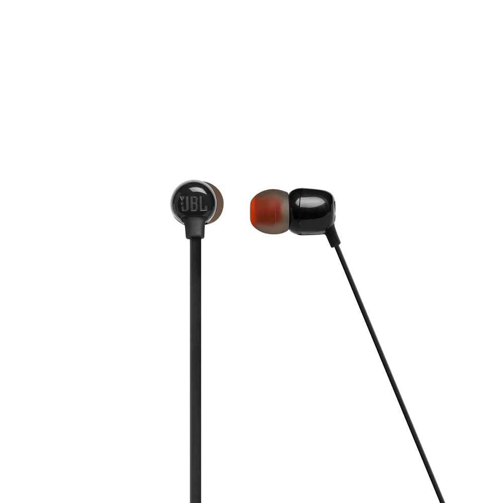 Fone de Ouvido JBL Tune 115BT Preto Bluetooth Multi Point Sem Fio com Microfone JBLT115BTBLK