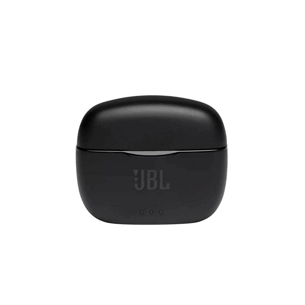 Fone de Ouvido JBL Tune 215 TWS Preto Sem Fio Bluetooth Pure Bass True Wireless Stereo JBLT215TWSBLK