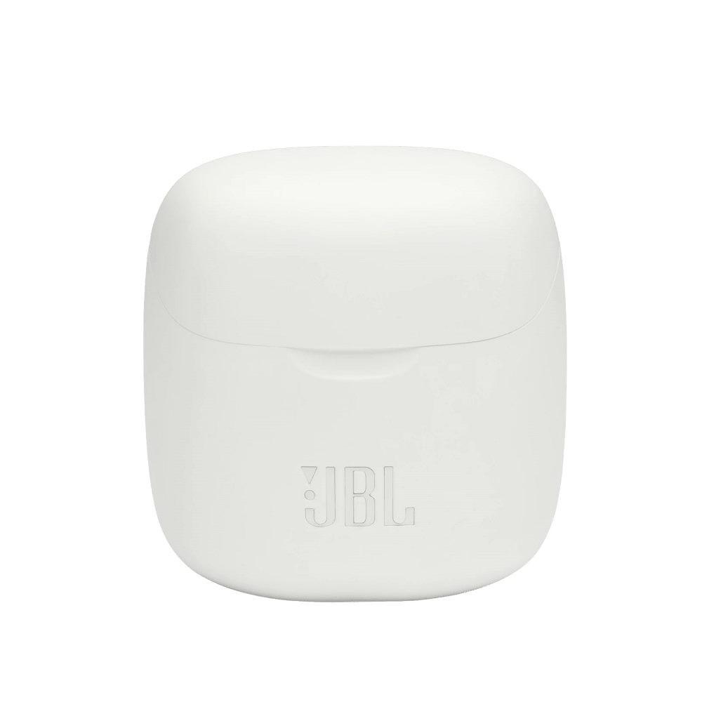 Fone de Ouvido JBL Tune 220TWS Branco Earbuds Bluetooth Sem Fio com Estojo Carregador JBLT220TWSWHT