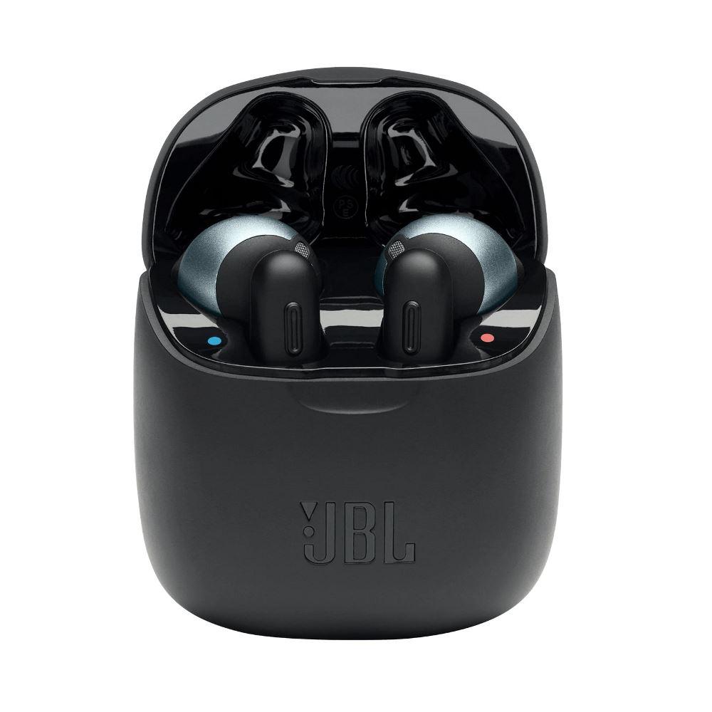 Fone de Ouvido JBL Tune 220TWS Preto Earbuds Bluetooth Sem Fio com Estojo Carregador JBLT220TWSBLK