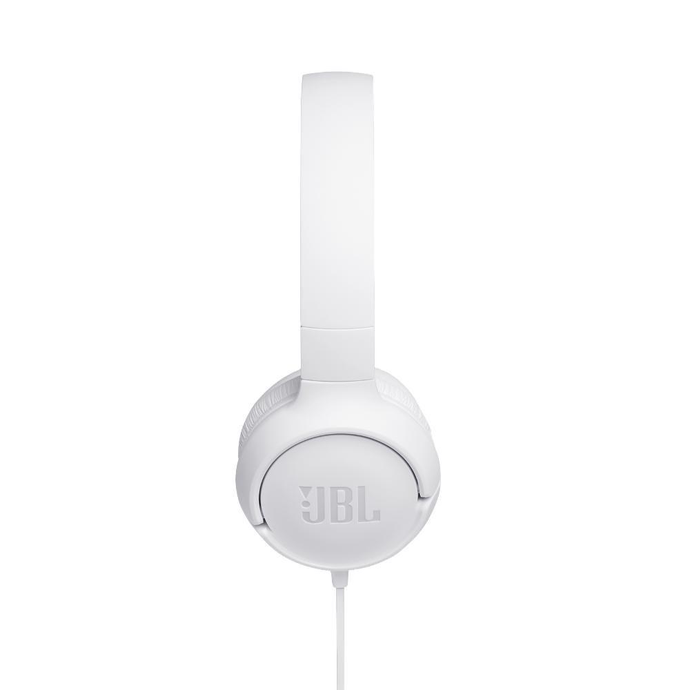 Fone de Ouvido JBL Tune 500 Branco Headset Headphone com Microfone