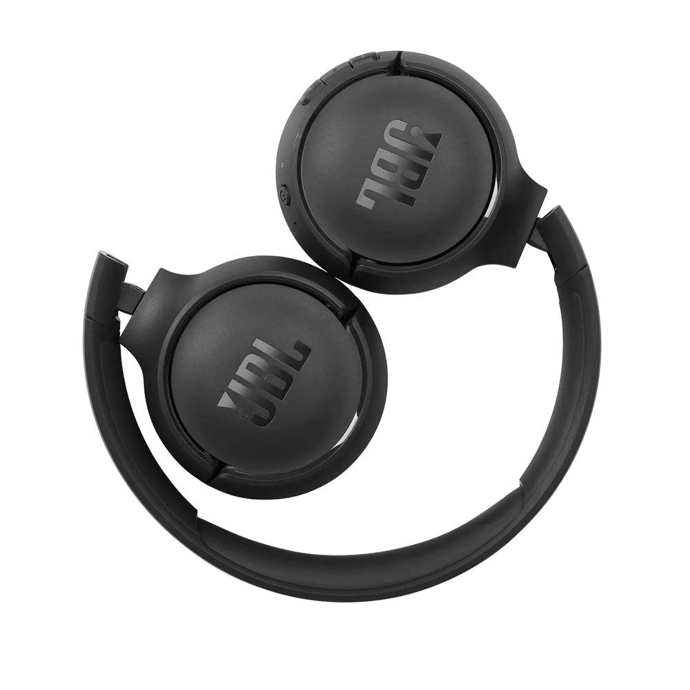 Fone de Ouvido JBL Tune 510BT Preto Bluetooth Pure Bass Wireless Sem Fio Com Microfone JBLT510BTBLK