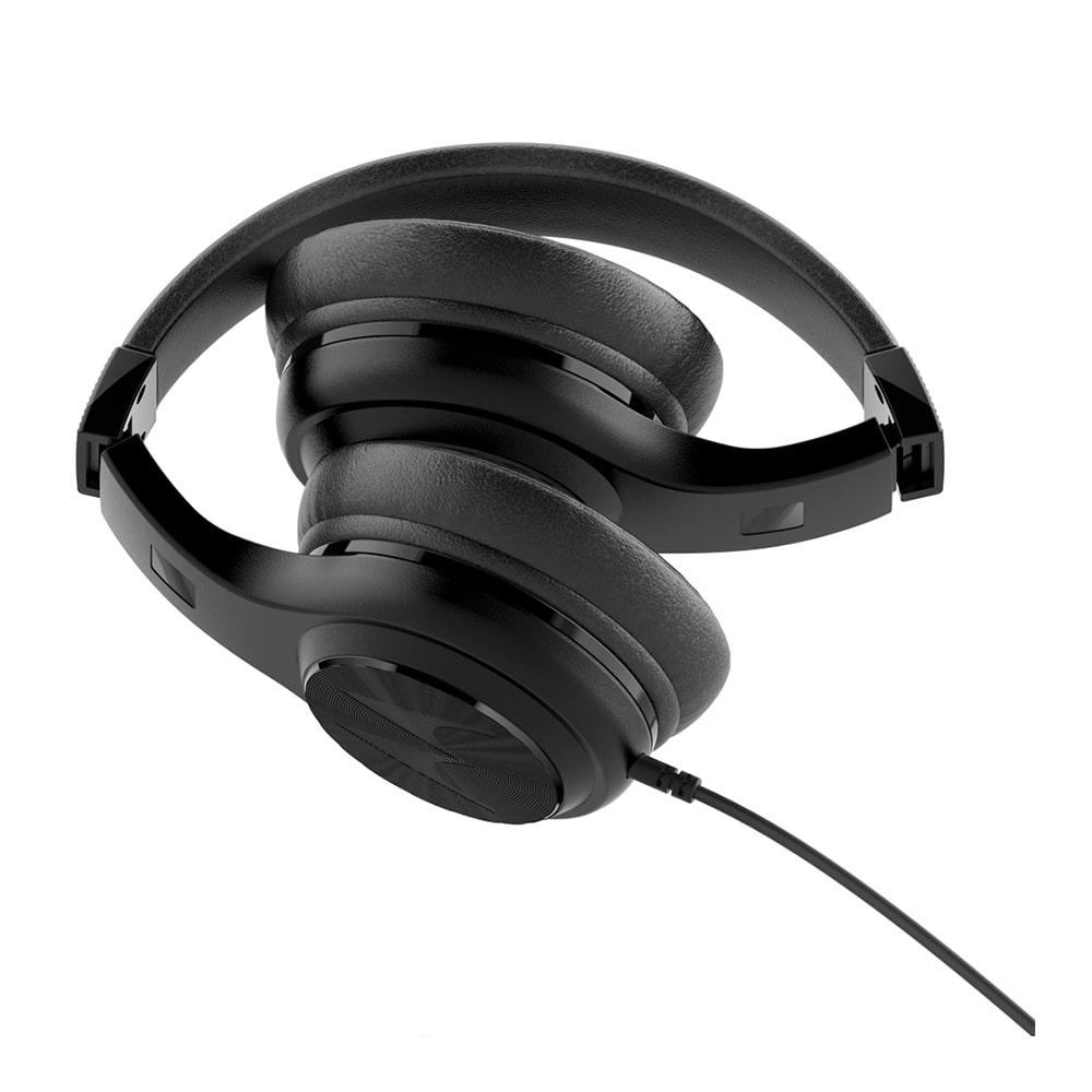 Fone de Ouvido Motorola Pulse 120 Preto Headset Com Som Grave Bass Microfone Controle para Ligações