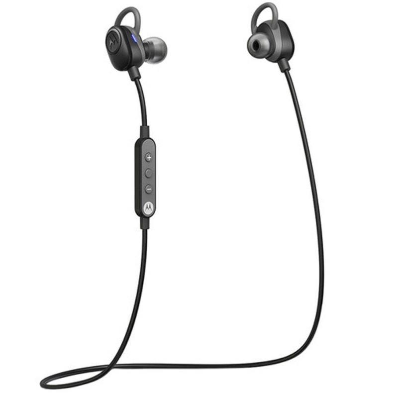 Fone de Ouvido Motorola Verve Loop Bluetooth Preto Esportivo Resistente à Água e ao Suor SH011