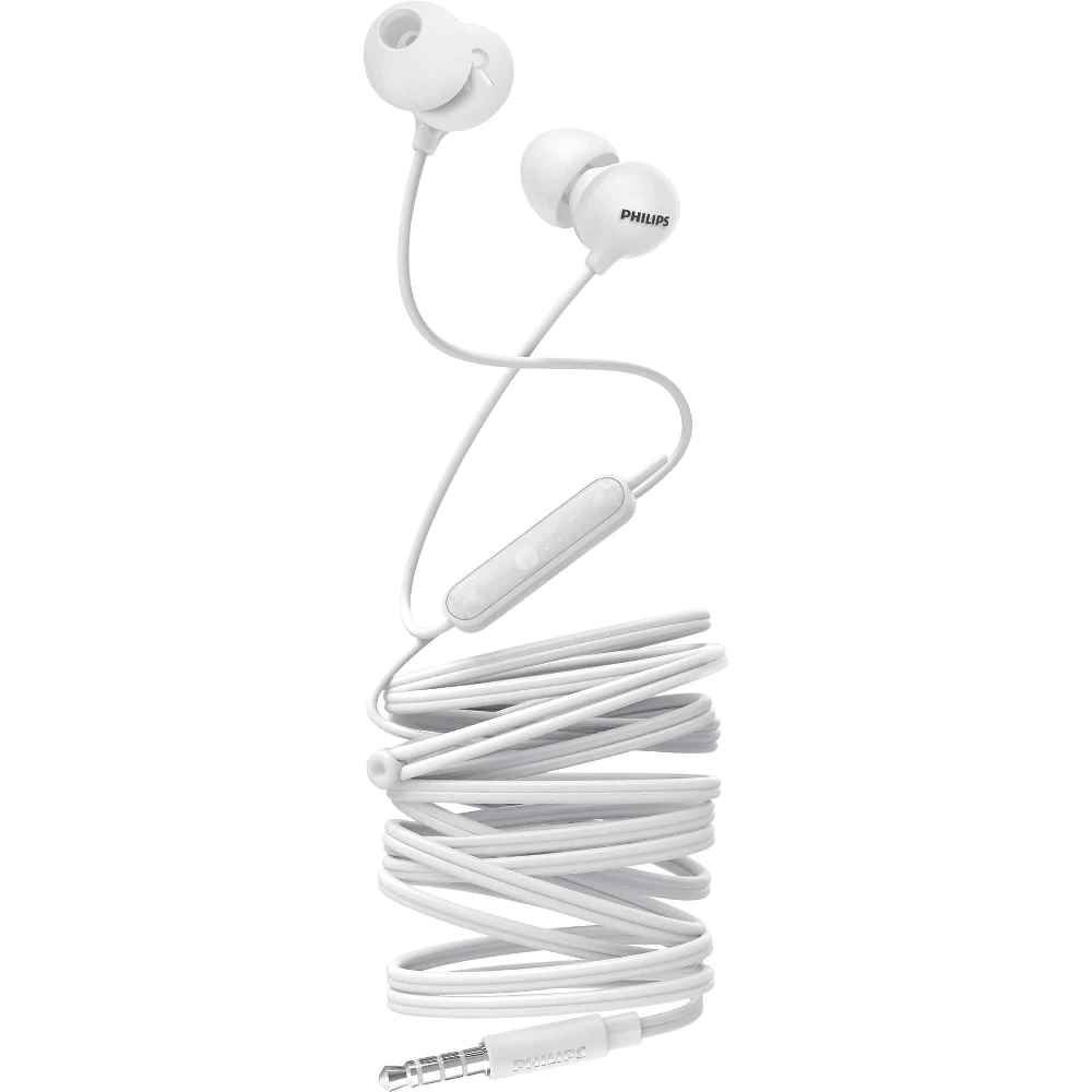 Fone de Ouvido Philips SHE2405 Branco Intra Auricular com Microfone Controle Up Beat SHE2405WT/00