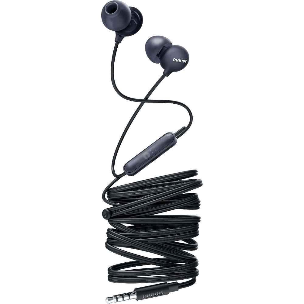 Fone de Ouvido Philips SHE2405 Preto Intra Auricular com Microfone Controle Up Beat SHE2405BK/00