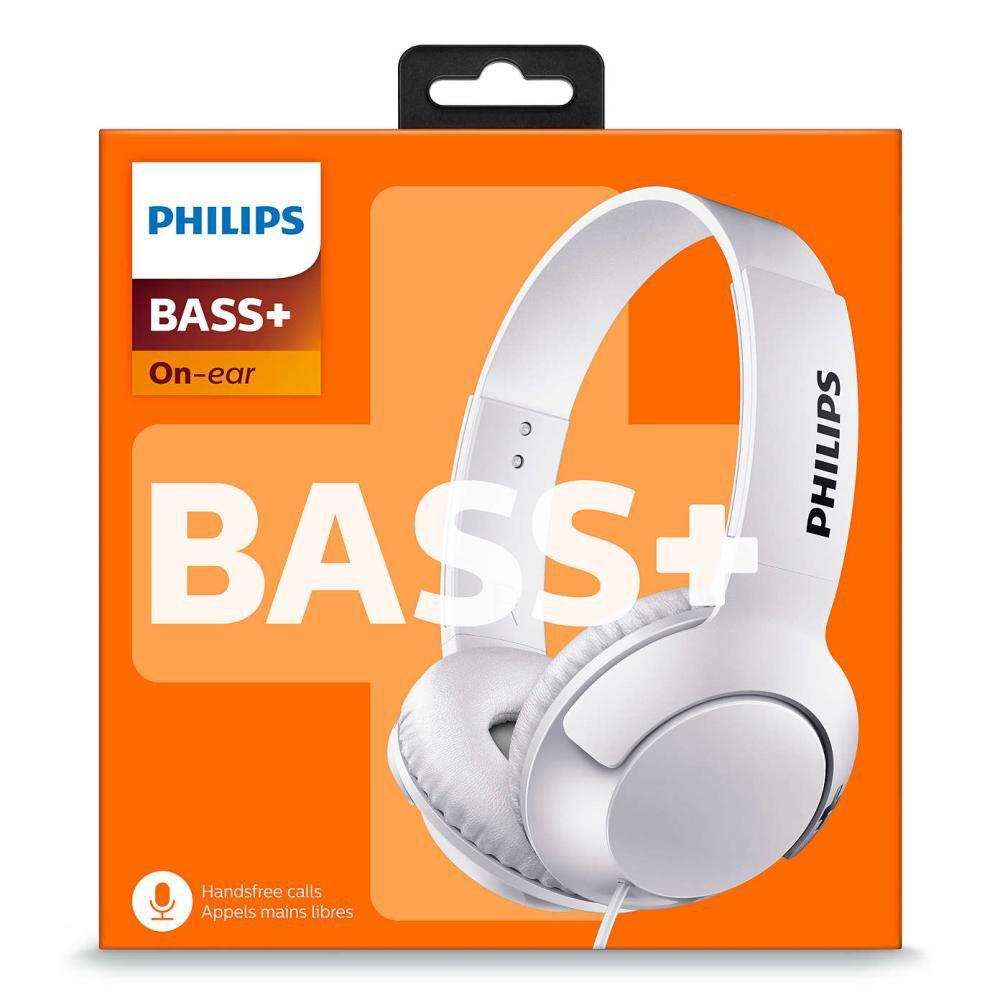 Fone de ouvido Philips SHL3075 Branco Com Microfone