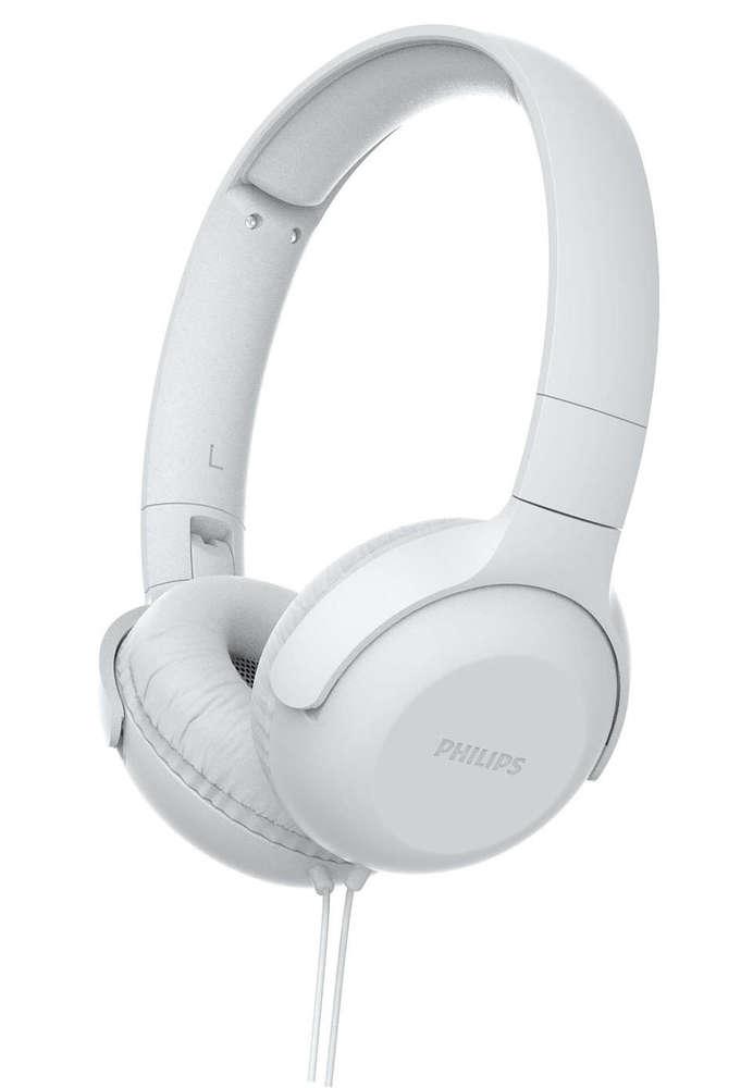Fone de Ouvido Philips TAUH201 Branco Headphone Headset com Microfone Controle no Cabo TAUH201WT/00
