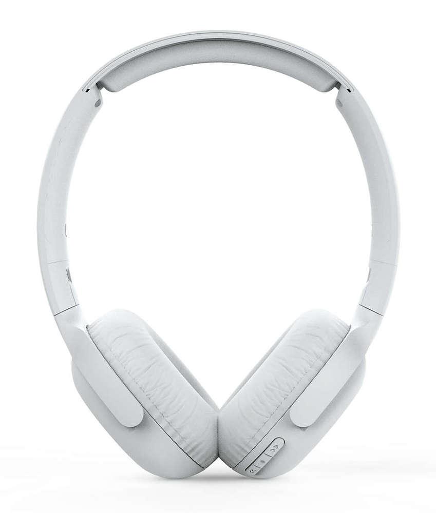 Fone de Ouvido Philips TAUH202 Bluetooth Branco Headphone Headset Sem Fio com Microfone TAUH202WT/00