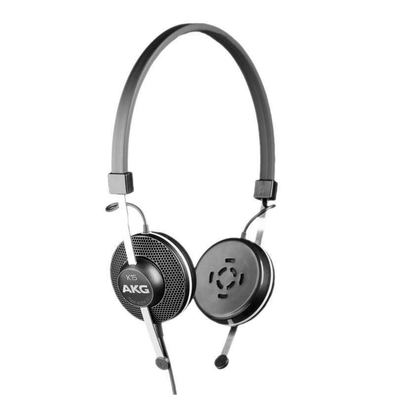 Fone de Ouvido Profissional AKG K15 Headphone de Alta Performance para Conferências
