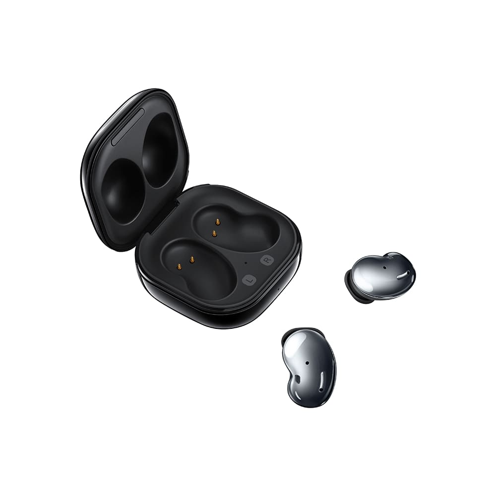 Fone de Ouvido Samsung Galaxy Buds Live Preto Bluetooth 5.0 com Cancelamento de Ruídos Ativo R180