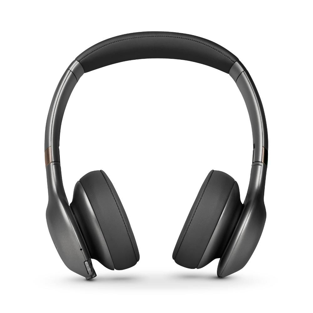 Fone de Ouvido Sem fio JBL Everest 310 Bluetooth Grafite On Ear Google Assistant ShareMe 2.0