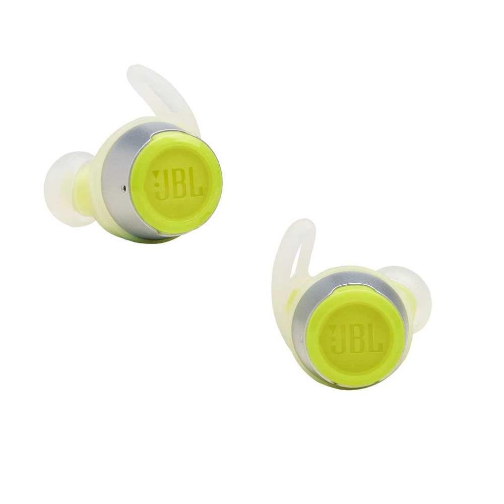 Fone de Ouvido Sem Fio JBL Reflect Flow Bluetooth Verde Esportivo à Prova D'água IPX7 JBLREFFLOWGRN