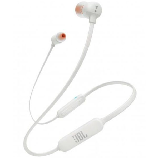 Fone de Ouvido Sem Fio JBL T110BT Branco Tune 110 Bluetooth Pure Bass